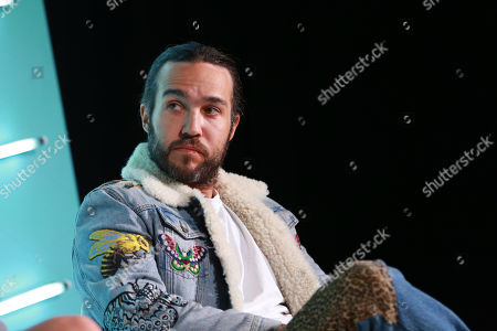 Stock Image of Pete Wentz (Musician, Fall Out Boy)