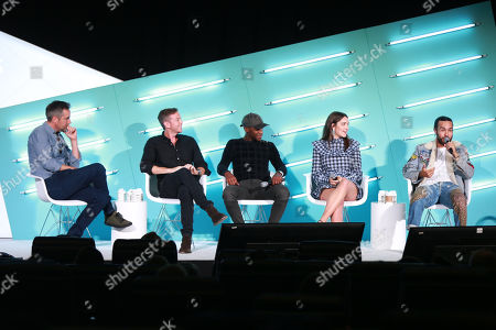 Editorial image of The Future Of Mobile Video Is Now: Pioneering Vertical Mobile-first Storytelling seminar, Advertising Week New York, AMC Lincoln Square, New York, USA - 25 Sep 2019