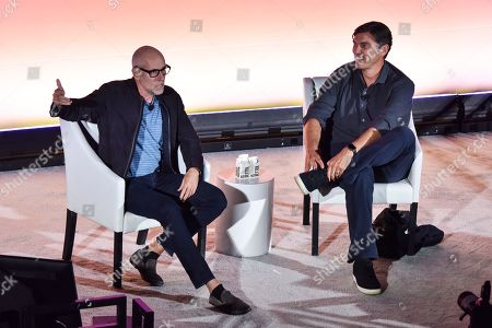 Stock Picture of Scott Galloway (NYU Professor, Author, & Entrepreneur) and Tim Armstrong (Founder & CEO, the dtx company)