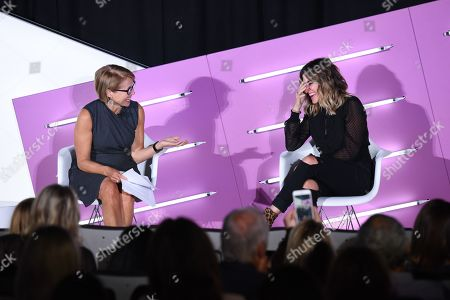 Katie Couric (Journalist, Podcaster, SU2C Founder and Documentary Filmmaker, Katie Couric Media) and Alli Webb (Founder, DryBar, Entrepreneur)
