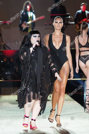 Editorial photo of Etam show, Runway, Spring Summer 2020, Paris Fashion Week, France - 24 Sep 2019