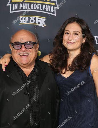 Danny DeVito and Lucy DeVito