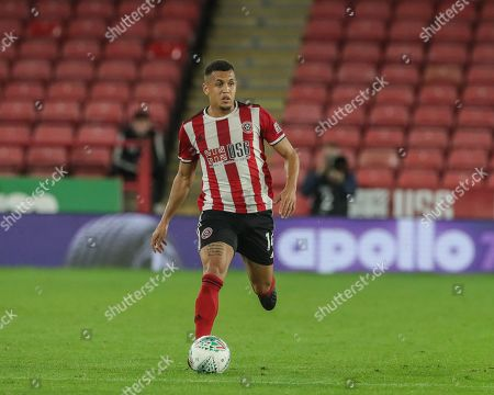 25th September 2019 , Bramall Lane, Sheffield, England; EFL Carabao Cup Football, Third round, Sheffield United vs Sunderland ; Ravel Morrison (14) of Sheffield United with the ball  Credit: Mark Cosgrove News Images English Football League images are subject to DataCo Licence