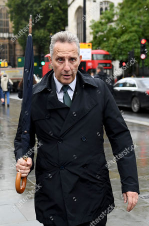 Stock Picture of Ian Paisley Jr arrives at the Houses of Parliament after the end of the prorogation.