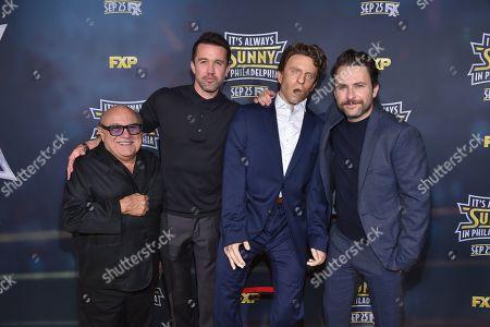 Danny DeVito, Rob McElhenney, Charlie Day,