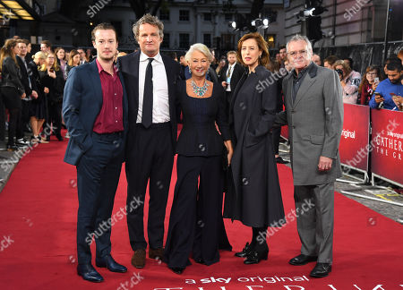 Stock Picture of Joseph Quinn, Jason Clarke, Helen Mirren, Gina Mckee and Kevin McNally