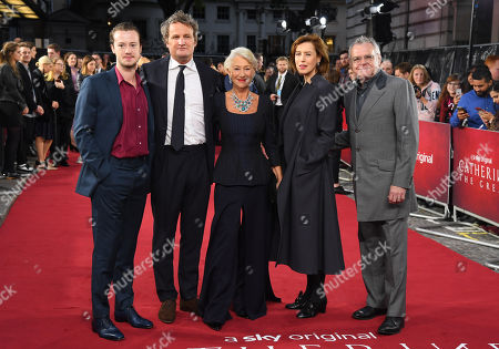 Stock Image of Joseph Quinn, Jason Clarke, Helen Mirren, Gina Mckee and Kevin McNally