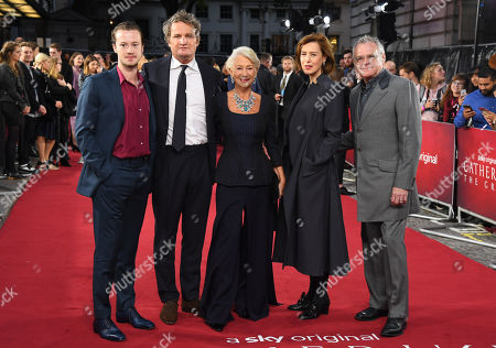 Joseph Quinn, Jason Clarke, Helen Mirren, Gina Mckee and Kevin McNally