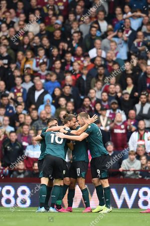 Jay Rodriguez of Burnley celebrates his goal.