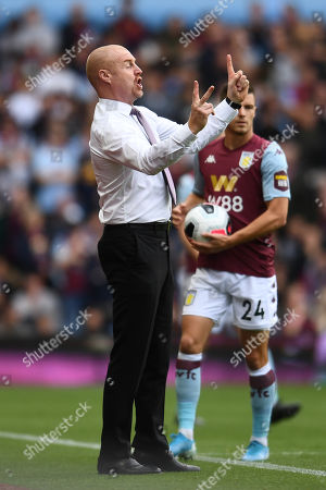 Sean Dyche manager of Burnley.