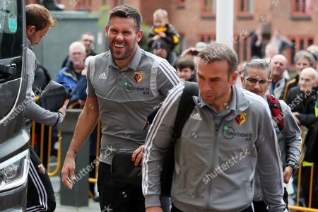 Watford goalkeeper Ben Foster arrives