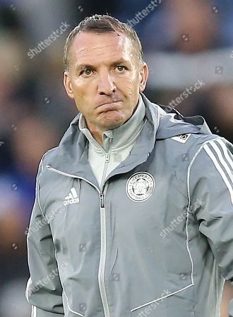 Brendan Rodgers manager of Leicester City