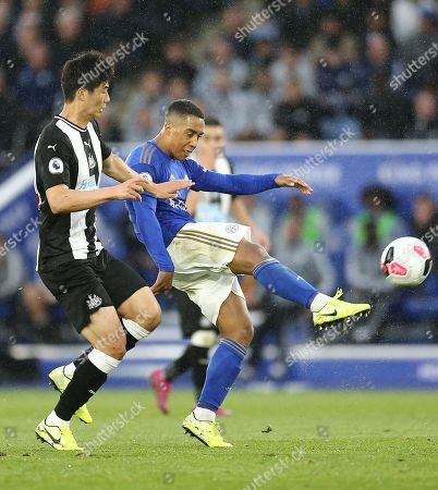 Editorial image of Leicester City v Newcastle United, Premier League, Football, King Power Stadium, Leicester, UK - 29 Sep 2019