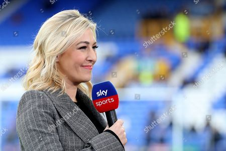 Stock Picture of SKY SPORTS Presenter Kelly Cates