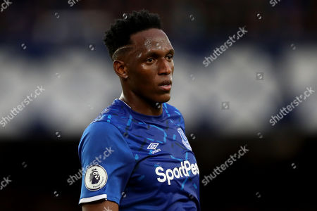 Yerry Mina of Everton