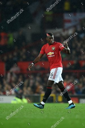 Paul Pogba of Manchester United.