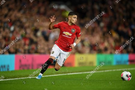 Andreas Pereira of Manchester United.