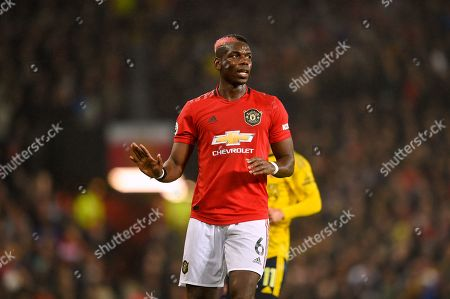 Editorial image of Manchester United v Arsenal, Premier League, Football, Old Trafford, Manchester, UK - 30 Sep 2019