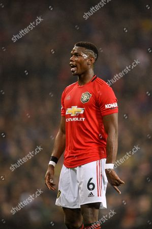 Stock Image of Paul Pogba of Manchester United.