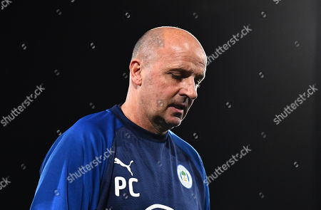 Wigan manager Paul Cook