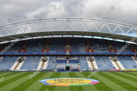 28th September 2019, John Smith's Stadium, Huddersfield, England; Sky Bet Championship, Huddersfield Town v Millwall : General view of the John Smith Stadium home of Huddersfield Town. Credit: Dean Williams/News Images