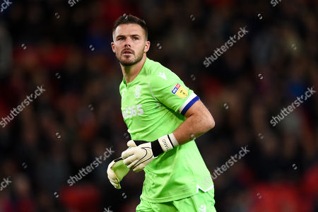 Goal Keeper Jack Butland of Stoke City.