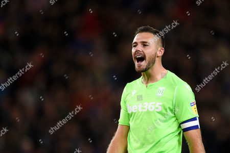 Stock Photo of Goal Keeper Jack Butland of Stoke City.