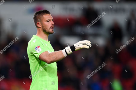 Stock Picture of Goal Keeper Jack Butland of Stoke City.