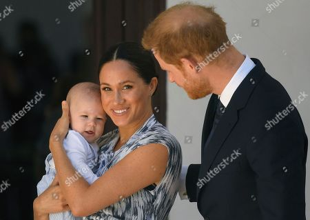 Editorial photo of Prince Harry and Meghan Duchess of Sussex visit to Africa - 25 Sep 2019