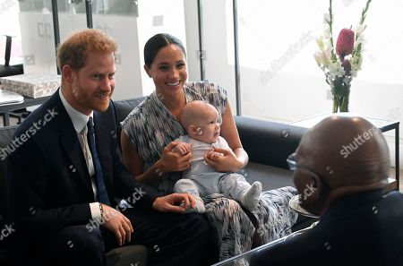 Editorial picture of Prince Harry and Meghan Duchess of Sussex visit to Africa - 25 Sep 2019