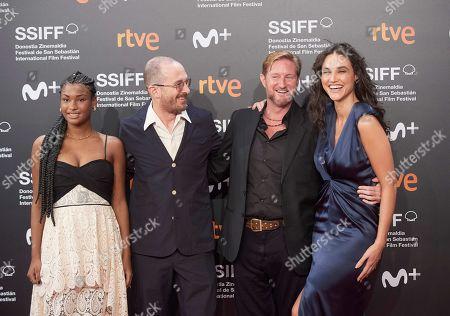 Editorial image of 'Pacificado' premiere, 67th San Sebastian Film Festival, Spain - 24 Sep 2019