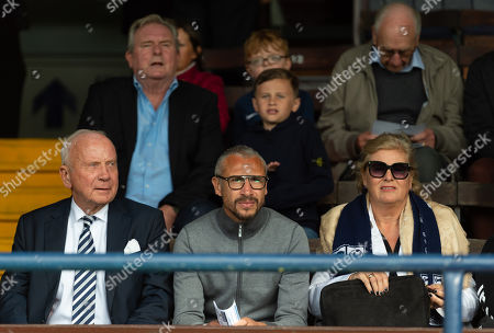 Stock Picture of Henrik Larsson on hand to watch the match as a potential manager for Southend United