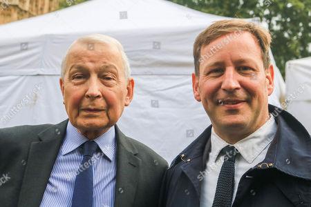 Frank Field MP (left) Ed Vaizey (Right)