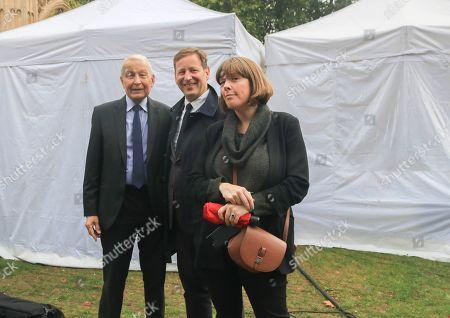 Frank Field MP (left) Ed Vaizey (Centre), Jess Phillips (Right)