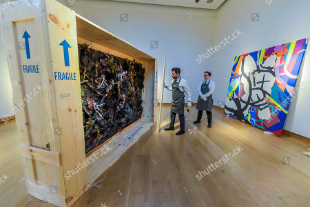 Editorial photo of Christie's Frieze week auctions, London, UK - 25 Sep 2019