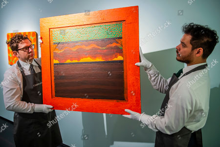 Editorial picture of Christie's Frieze week auctions, London, UK - 25 Sep 2019