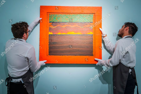 Howard Hodgkin, Bombay Sunset, Executed in 1972-1973, Estimate: £500,000-700,000, The Jeremy Lancaster Collection