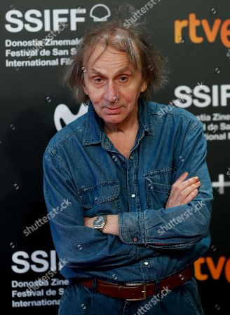 Michel Houellebecq attends the premiere of the movie 'Thalasso' at the San Sebastian International Film Festival (SSIFF) in San Sebastian, Basque Country, Spain, 25 September 2019. Thalasso competes in the official section festival, which runs from 20 to 28 September.