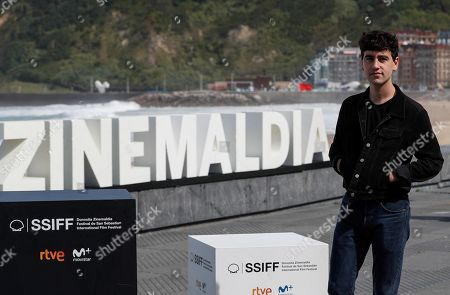 Alex Monner poses for the media during the presentation of the film 'La hija de un ladron' (A Thief's Daughter) as part of San Sebastian International Film Festival, in San Sebastian, Basque Country, Spain, 25 September 2019. The film competes in the official section of the festival running from 20 to 28 September.