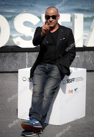 Eduard Fernandez poses for the media during the presentation of the film 'La hija de un ladron' (A Thief's Daughter) as part of San Sebastian International Film Festival, in San Sebastian, Basque Country, Spain, 25 September 2019. The film competes in the official section of the festival running from 20 to 28 September.