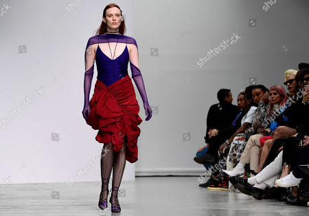 Editorial image of Mugler - Runway - Paris Fashion Week S/S 2020, France - 25 Sep 2019
