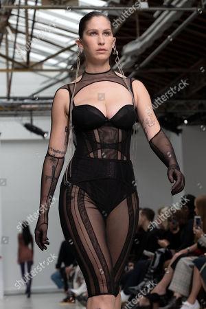 Editorial picture of Mugler - Runway - Paris Fashion Week S/S 2020, France - 25 Sep 2019