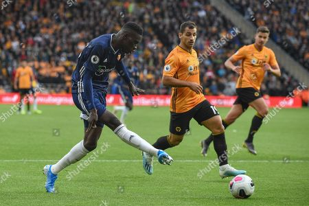 Editorial image of Wolverhampton Wanderers v Watford, Premier League, Football, Molineux Stadium, Wolverhampton, UK - 28 Sep 2019