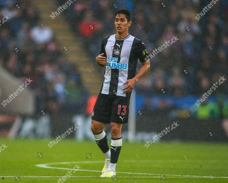 29th September 2019, King Power Stadium, Leicester, England; Premier League, Leicester City v Newcastle United : Yoshinori Muto (13) of Newcastle United during the game