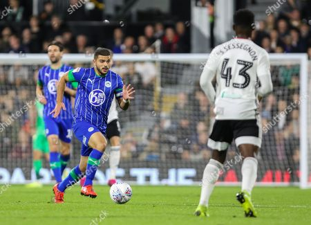 Editorial image of Fulham v Wigan Athletic, EFL Sky Bet Championship, Football, Craven Cottage, London, UK - 27 Sep 2019