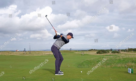 ST ANDREWS, SCOTLAND. 26 SEPTEMBER 2019: Michael Vaughan during round one of the Alfred Dunhill Links Championship, European Tour Golf Tournament at St Andrews, Scotland