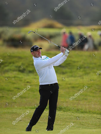 ST ANDREWS, SCOTLAND. 26 SEPTEMBER 2019: Stephen Gallacher of Scotland during round one of the Alfred Dunhill Links Championship, European Tour Golf Tournament at St Andrews, Scotland