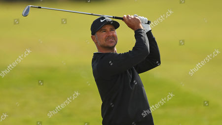 ST ANDREWS, SCOTLAND. 26 SEPTEMBER 2019: Trevor Immelman of South Africa during round one of the Alfred Dunhill Links Championship, European Tour Golf Tournament at St Andrews, Scotland
