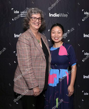 Anne Thompson and Director Nanfu Wong