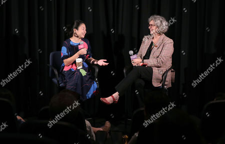 Director Nanfu Wong and Anne Thompson